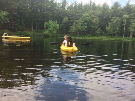 kayaking with Shadow 2