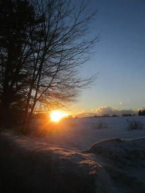 Great brook sunset