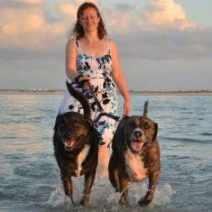 Kathy's photo on the beach
