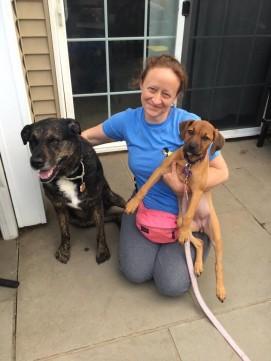 Wilma's adoption day