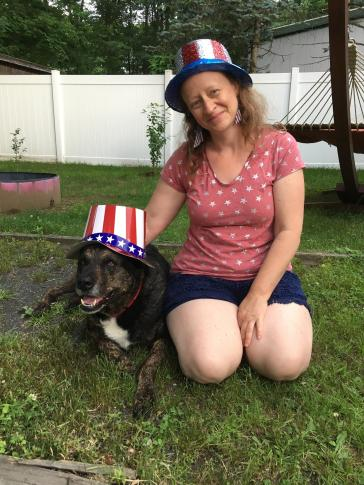 July 4 2017 Shadow and I